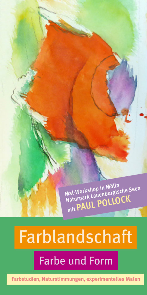 Workshop Experimentelles Malen mit Paul Pollock