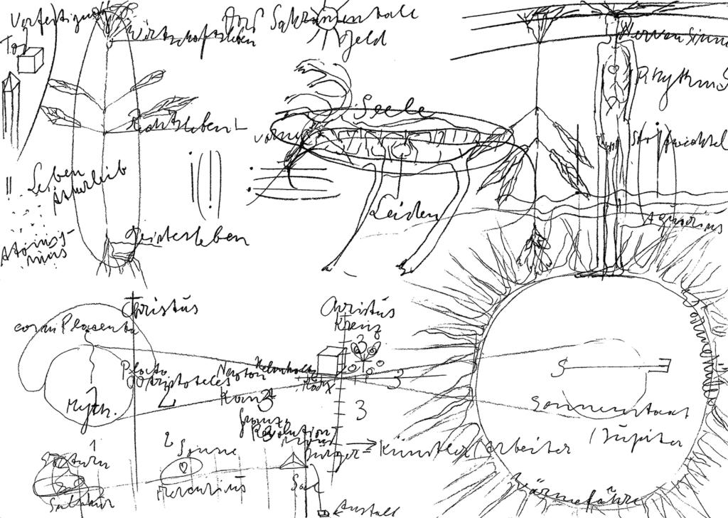 Mit Beuys Evolution denken.