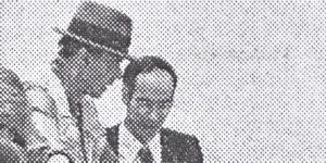 Beuys uns Harlan auf der Dokumenta Kassel