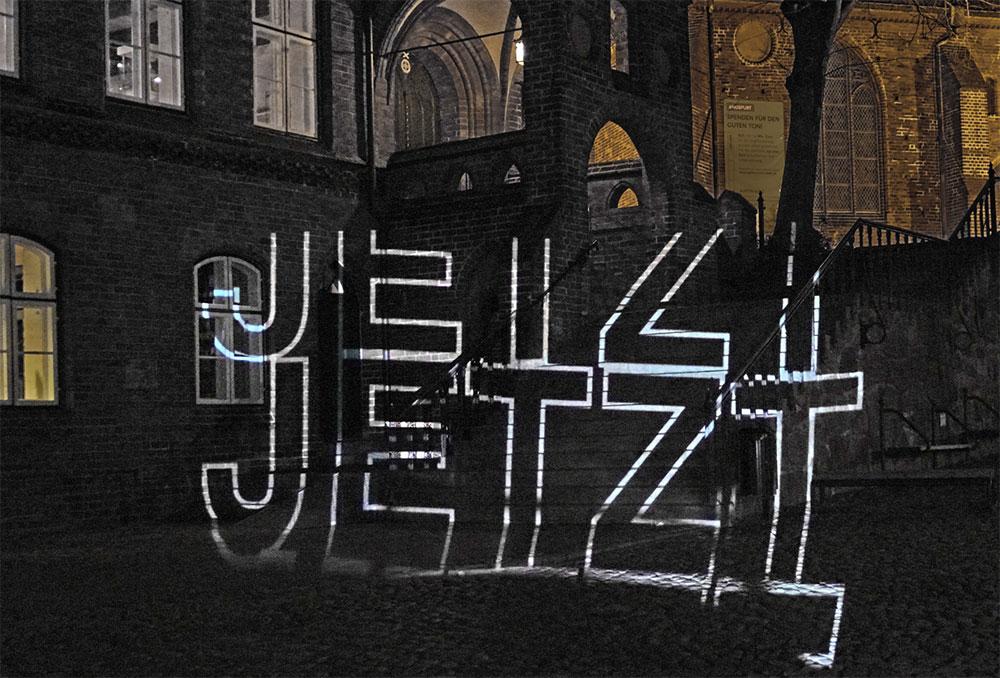JETZT - Videoperformance in Mölln