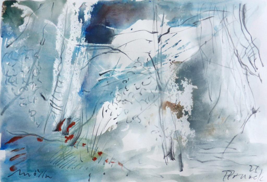 Farbsymphonie | Workshop Expermientelles Malen mit Paul Pollock